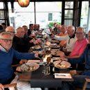 14 Glada golfare som njuter av maten 😎